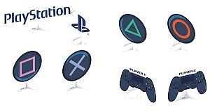 Decoração de Mesa Festa Playstation - 8 unid
