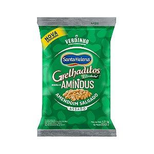 Grelhaditos Amendoim sem Pele Salgado 1,01kg Pct