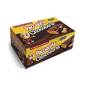 Pacoquita Coberta Com Chocolate DisPlay De 144G Com 8 UND