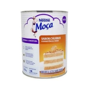 Recheio e Cobertura de Churros Moça - 2,6KG Nestlé