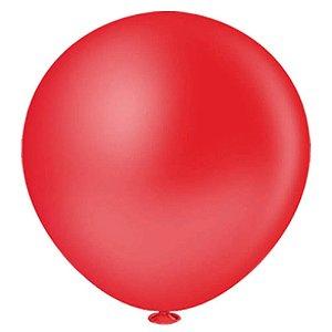 Balão Bexiga Fat Ball N25 Vermelho -  Pic Pic