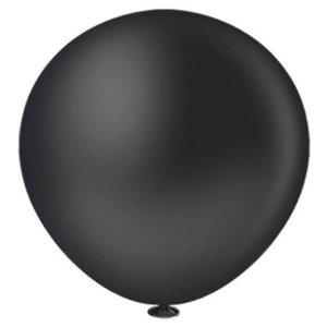 Balão Bexiga Fat Ball N25 Preto -  Pic Pic