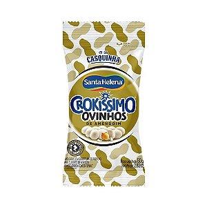 Ovinhos De Amendoim Pacote 80g Crokissimo - Santa Helena