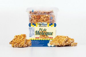 Pe de Moleque 800 gramas - 20 unid - Vica