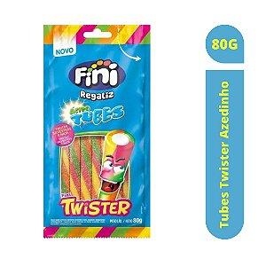 Bala Tubes Twister Azedinho 80g - Fini