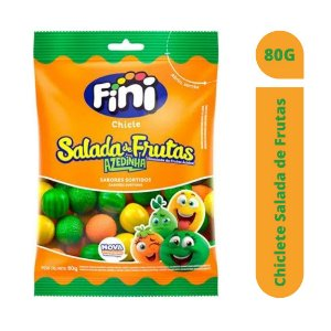 Chiclete Salada de Frutas 80g - Fini