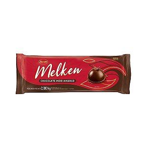 Chocolate Melken Meio Amargo - Barra 2,100kg Harald
