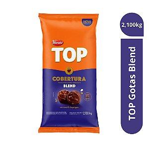 Cobertura Chocolate blend Top - Gotas 2,100kg Harald