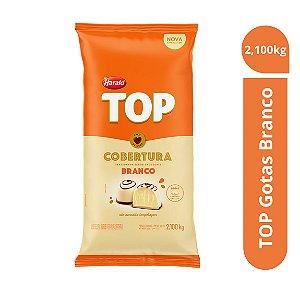 Cobertura Chocolate Branco Top - Gotas 2,100kg Harald