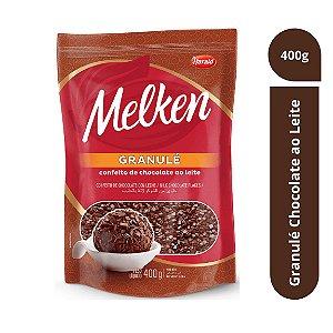 Granulé de Chocolate ao Leite Melken 400g - Harald