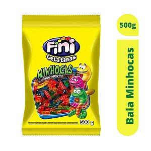 Bala Minhocas 500g - Fini