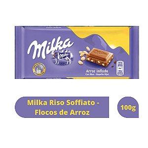 Chocolate Milka Riso Soffiato - Flocos de Arroz 100g
