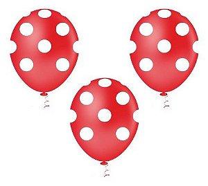 Balão Bexiga Bolinha Pintadinha - 50 Unid