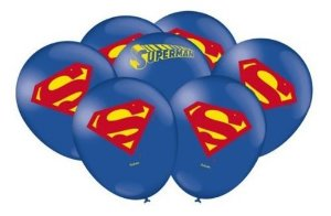 Balão Bexiga Super Man Geek - 25uni