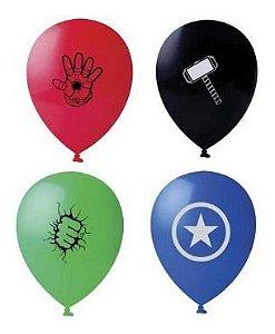 Balão Bexiga Vingadores Sortido - 25 Uni