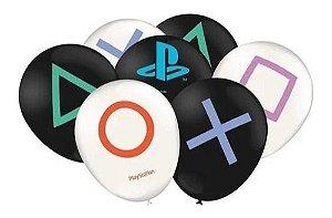 Balão Bexiga Playstation - 25uni