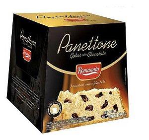 Panettone Com Gotas Sabor Chocolate Romanato 400g