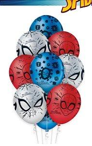 Balão Bexiga Homem Aranha Premium