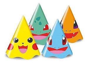 Chapéu De Aniversário Festa Pokemon - 8