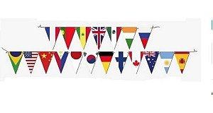 Faixa Decorativa Now United - Tema Países - 1 Uni
