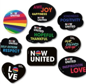 Kit Placas Decorativas Now United - 9 uni