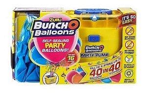 Inflador De Balões C/16 balões Rosa C/adaptador