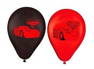 Balões Bexigas Carros Cars - 25 Unidades - Regina