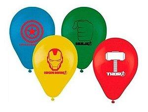 Balões Bexigas Avengers Vingadores - 25 Unidades - Regina