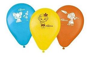 Balões Bexigas Moana - 25 Unidades - Regina