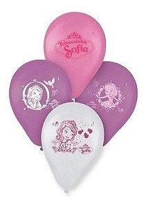 Balões Bexigas Princesa Sofia - 25 Unidades - Regina
