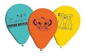 Balões Bexigas Rei Leão - 25 Unidades - Regina
