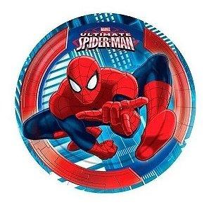Pratos Homem Aranha - Decoraçao Spider 40 Unid Kit