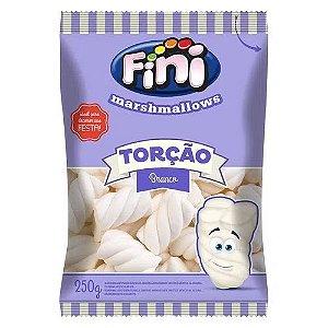 Marshmallow Torcao Branco 250g - FINI