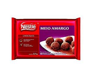 Cobertura Chocolate Nestle Meio Amargo - Barra 2,1kg