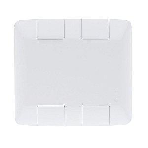 Placa Cega 4x4 Aria Branca Tramontina