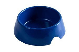 Comedouro Plástico 1,0L Azul Astra