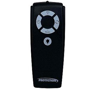 Controle Remoto Universal para Ventilador Sem Fio Preto PT-355 Protection
