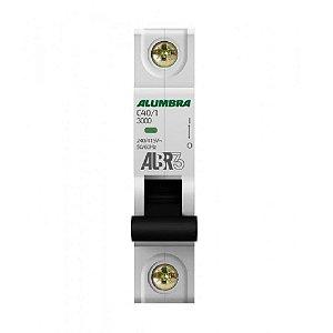 Disjuntor Unipolar 40A Alumbra ALBR3  Curva C