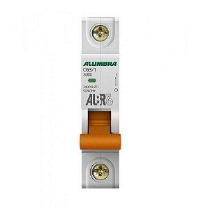 Disjuntor Unipolar 63A Alumbra ALBR3  Curva C