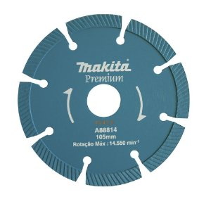 Disco Diamantado Segmentado para Concreto 105mm A-88814 Makita