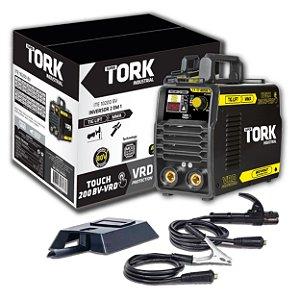 Inversor De Solda Touch 200 VRD TIG Lift/MMA Eletrodo ITE-10200 200A Super Tork Bivolt