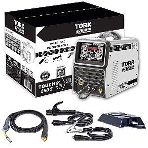 Inversora 3 Em 1 TIG/MIG/Eletrodo 250A 220V IMETS-12250 Super Tork