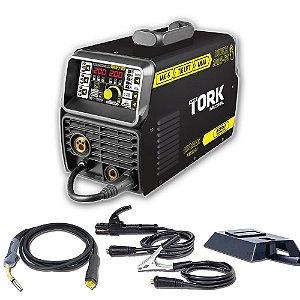 Inversor De Solda Touch 200S TIG Lift/MIG/MMA Eletrodo IMETS-11200 200A Super Tork Bivolt
