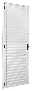 Porta Aluminio  Social Postig Direita 210X80 Esquadrisul