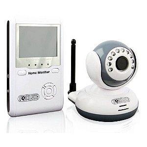 Câmera Monitor Sem Fio Foxlux