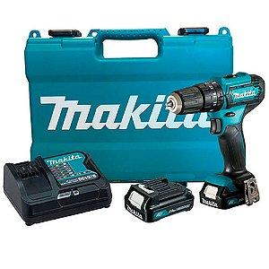 Parafusadeira e Furadeira 12V à Bateria HP333DSAE Bivolt Makita