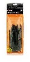 Abraçadeira De Nylon 200x2,5mm Preto Com 100 Pecas Foxlux