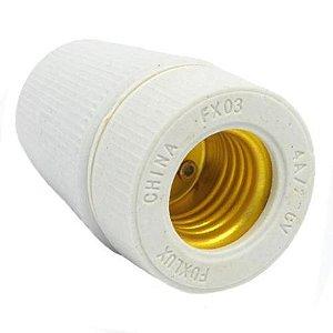 Soquete Porcelana De Tempo E-27 Foxlux