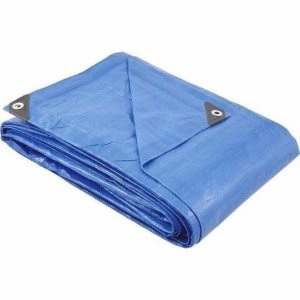 Lona Azul Polietileno 8Mx7M Foxlux