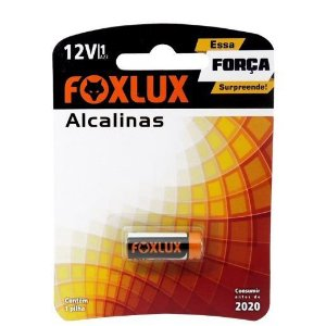Pilha Alcalina Blister 12V Foxlux